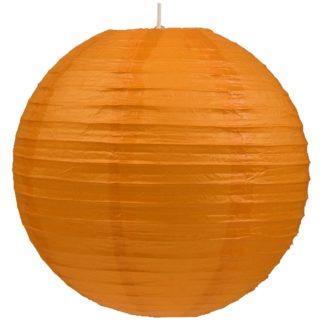 Abażur KULA PAPIEROWA 50 stal papier pomarańczowy 31-88201