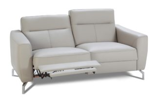 Bogart Design Sofa dwuosobowa z elektryczną funkcją relaks Maybe Skóra - Darmowa Dostawa