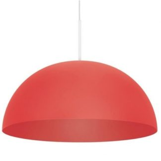 Lampa wisząca LED Rye Philips styl nowoczesny metal czerwony 409073216