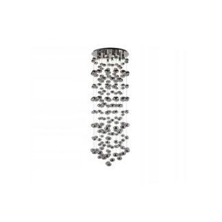Lampa wisząca Luvia 125XL AZZARDO styl designerski metal chrom szkło AZ2574