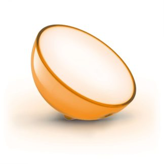 Lampka nocna LED Hue Go Philips styl nowoczesny tworzywo sztuczne biały 7146060PH